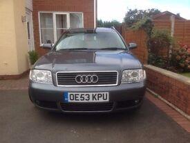 Audi A6 Avant 1.9 Tdi Se Semi-Auto / 5 Door Estate / Tourer Grey - Black Leather Seats - Low Miles