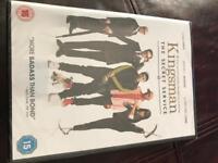Kingsman dvd still in cellophane