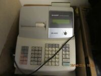 SHARP CASH REGISTER AS NEW EXCELLENT CONDTION MODEL XEA303 £80 NO OFFERS