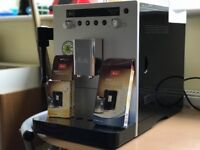Melitta Caffeo Bistro Fully Automatic Bean to Cup Coffee Maker, Silver
