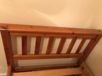 Single Bed frame - solid pine