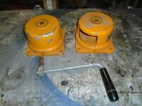 2 roap winches ideal for sails or ankers etc