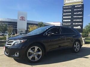 2014 Toyota Venza LIMITED AWD*1 OWNER, NAVIGATION, LEATHER HEATE