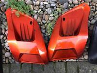 Gilera runner orange vents