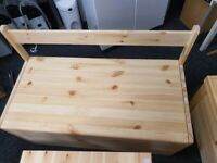 Scandinavia Pine Extra Large Toy Box