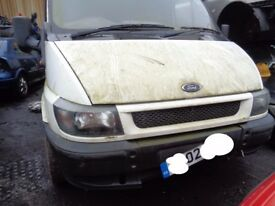 BREAKING ---- Ford Transit 350 LWB TD 2.4L Diesel 161 BHP ----- 2002 Tow Bar also available