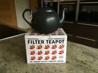 London pottery 6 cup filter teapot