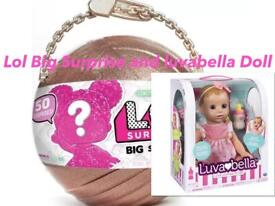 Lol Big Surprise Doll And luvabella Genuine Item