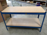 Warehouse or Garage Handy Workshop Bench 180cm wide x 60cm deep x 90cm high