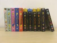 The Simpsons DVDs seasons 1-11