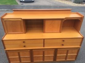 Very Heavy Parker knoll Retro Vintage Ercole style sideboard