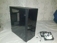 PC case and 2 ARTIC 120MM fans