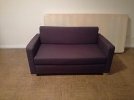 Sofa bed, cloth, 2 seater
