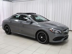 2017 Mercedes-Benz CLA CLA250 4MATIC AWD SEDAN