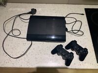 Playstation 3 with 2 controllers