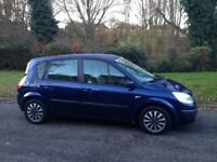 RENAULT MEGANE SCENIC 1.6 MOT APRIL 2018 LOW MILEAGE DRIVES WELL VERY CLEAN CAR