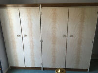 Wardrobes and Dressing Table with Large Mirror