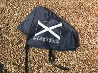 CARAVAN HITCH COVER - SCOTLAND - NEW