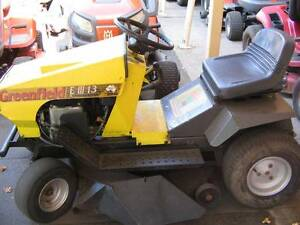 Second Hand Greenfield E13 ride on mower Richmond Hawkesbury Area Preview