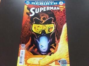 DC UNIVERSE REBIRTH SUPERMAN VOL1 ISSUE #3 SEPTEMBER 2016 9.4-NM 15$