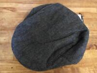 Men's Next grey flat cap. Size small.