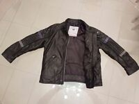 Boys leather jacket from Next. Age 2-3