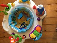 Baby Einstein activity sauncer