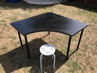 Ikea corner desk with seat