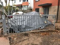 Galvanised Field Gate and Posts