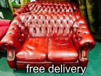 Chesterfield 3 and 2 sofa set