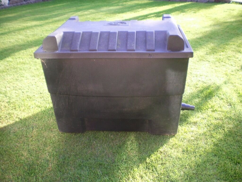 Cyprio pond filter box in shoeburyness essex gumtree for Water pump filter box