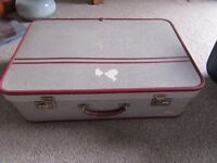 Vintage Noton Suitcase - Prop, display, storage