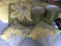 Bedding & lamps