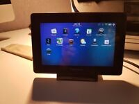 Blackberry Playbook 64GB with fast charger stand and cover case
