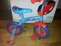 Thomas & friends 2 in 1 10inch training bike and helmet