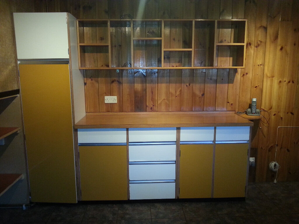 Yellow Used Kitchen Units Gumtree