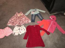 Small girls bundle size 18-24