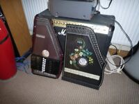Autoharp and Zither for sale.