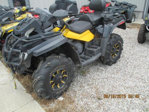 Used 2010 Can-Am Outlander 650 MAX XT-P
