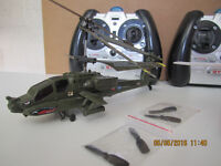 indoor rc helicopters (spares or repair) x3