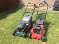 2 PETROL LAWN MOWERS, EXCELLENT WORKING ORDER, £40 each