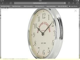 M & S Large Millbank Wall Clock ( Brand New )