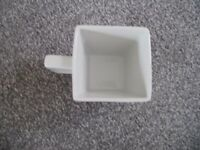 Cups and Saucers White brand new