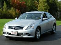 2010 Infiniti G37X AWD HEATED LEATHER SEATS AND SUNROOF