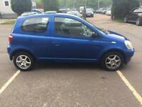 LOVLEY TOYOTA YARIS ONLY 60 K MILES ££1350