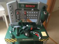 Bosch Kids Workbench with Tools
