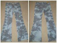 Pepe designer bootcut jeans