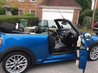Mini Cooper S convertible, leather, Cooper Works Aerodynamics, FSH, sports pack, chili pack