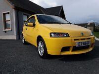 2006 Fiat Punto 1.8 16v HGT very rare mint condition yellow full mot