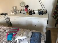 Chest of draws and two bedside tables